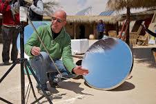 תנור סולארי מצלחת לוויין