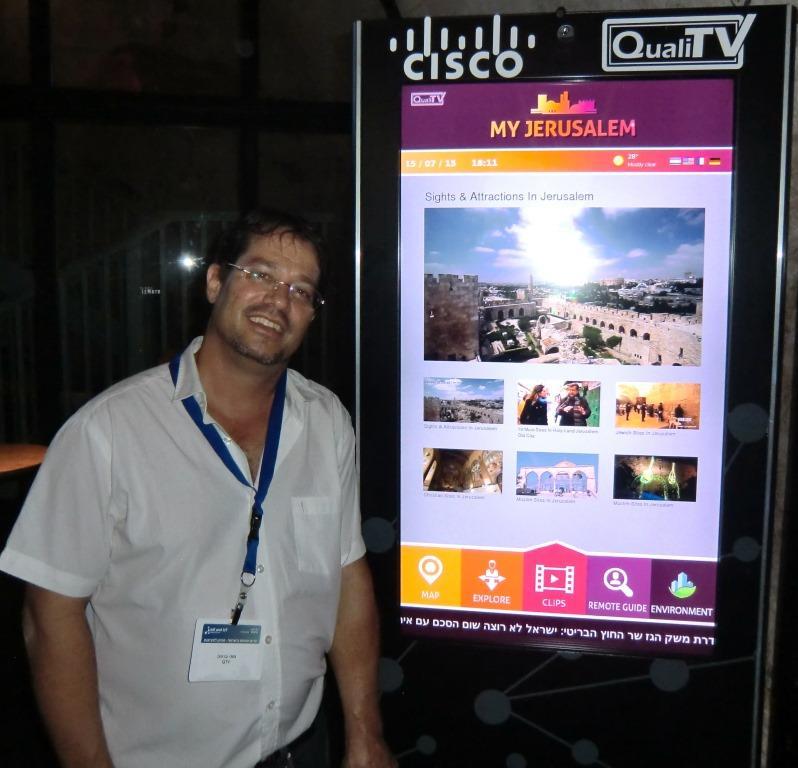 העיר החכמה בירושלים עם QualiTV