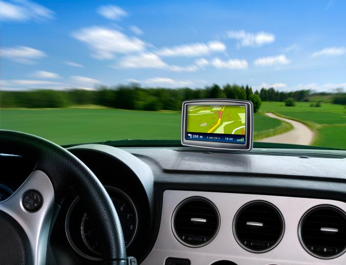 נסיעה ברכב עם ניווט