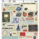 School Memories Self-Adhesive Chipboard