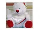 דובי לבן עם לב