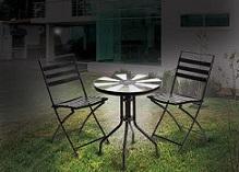 פינת ישיבה סולארית למרפסת ולגינה