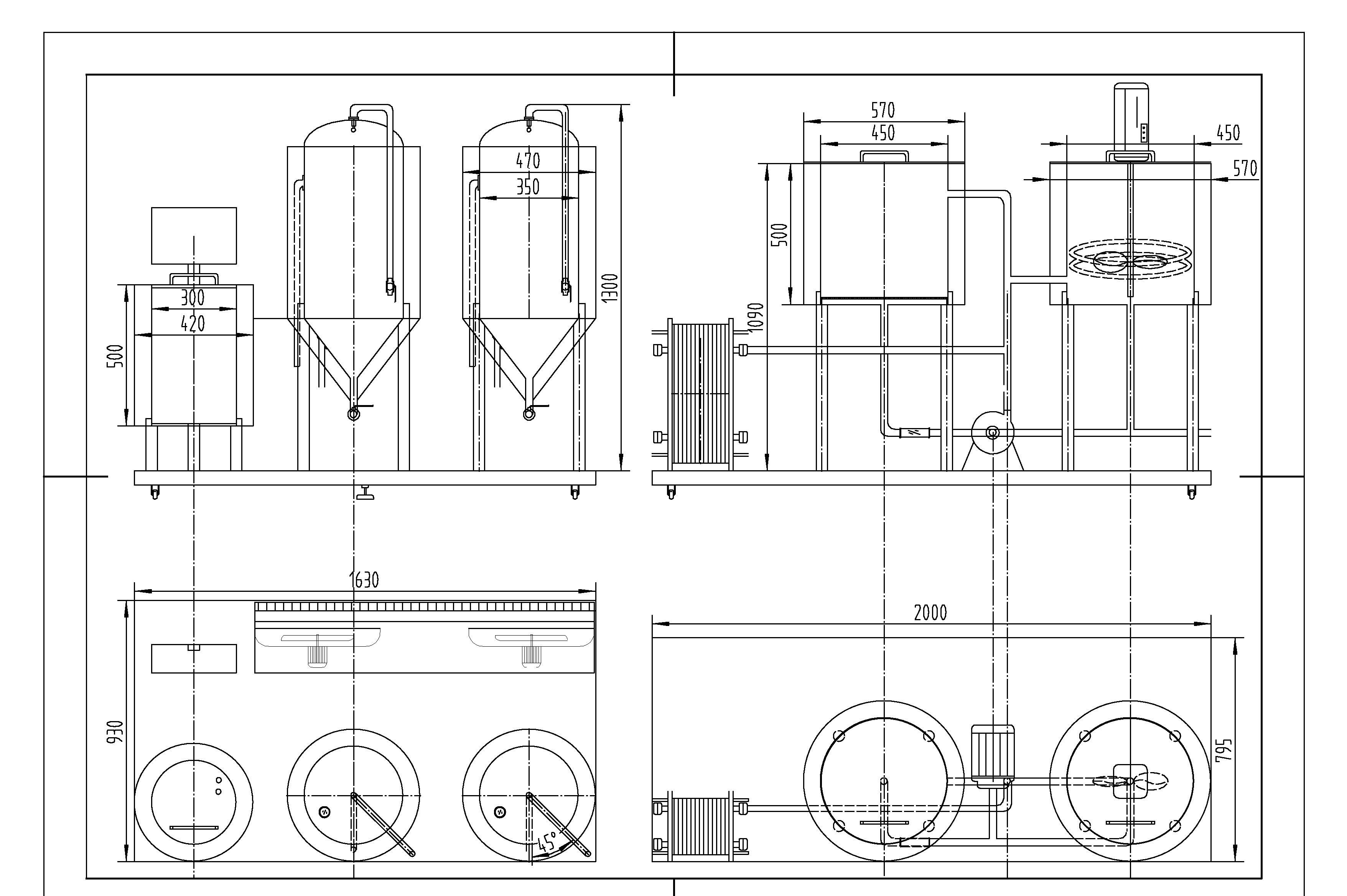 autocad drawing beer taps sketch coloring page