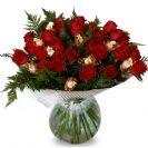 זר ורדים קלאסי מתוק
