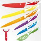 מארז 7 סכינים קרמיות