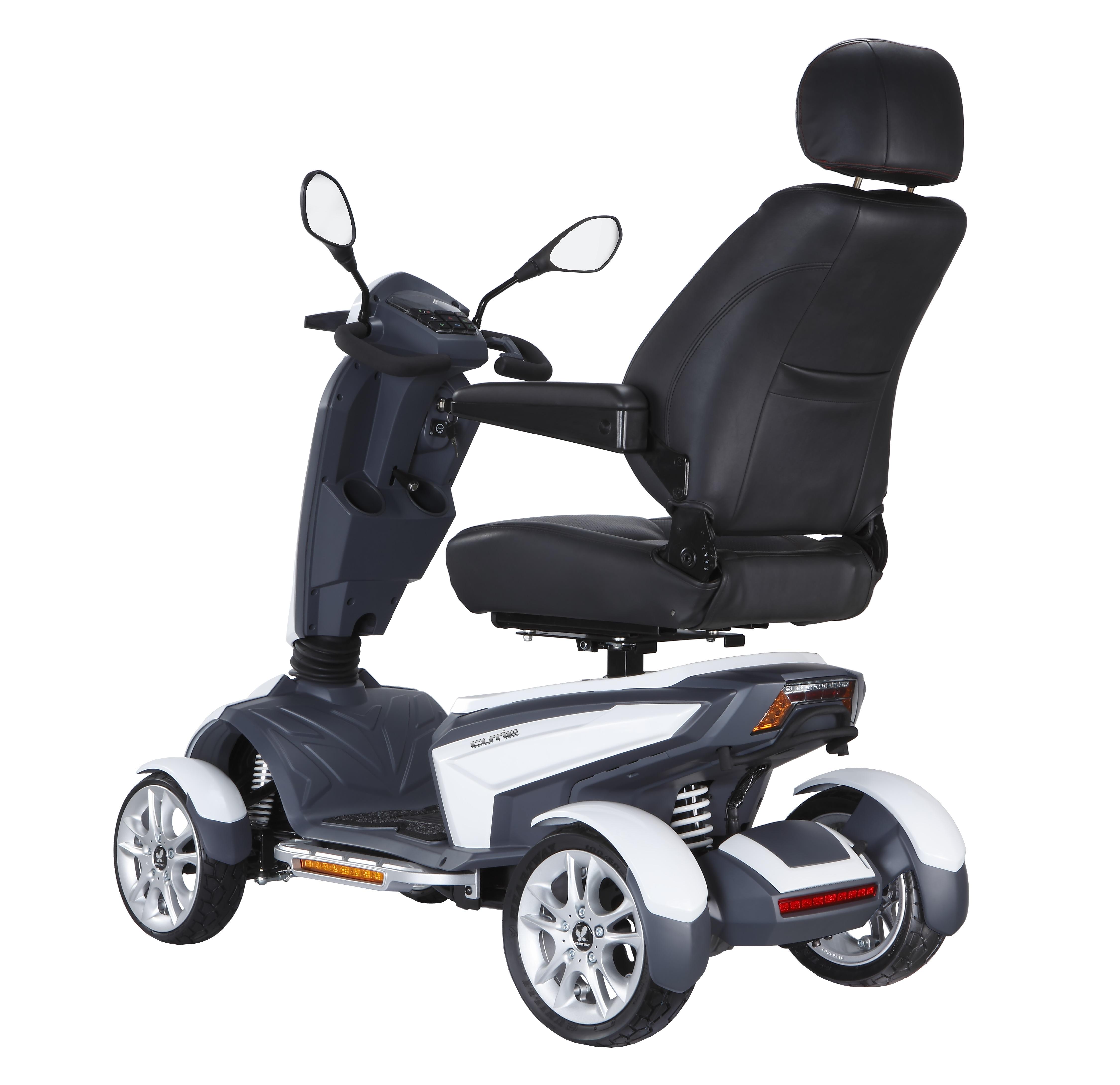 Смена коляски на электроскутер для инвалидов «Vita» OSD увеличит самостоятельность людей с ограниченными возможностями