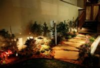 תכנון גינות תאורה