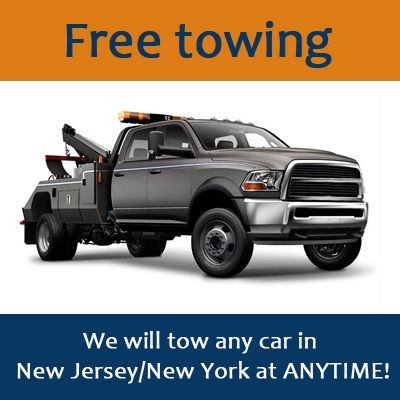We will tow any car in New Jersey/New York