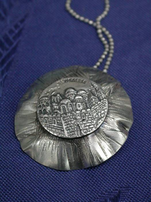 Jerusalem Silver Necklace