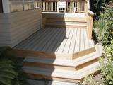 Wrap around steps