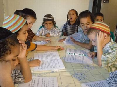 ילדי תימן לומדים