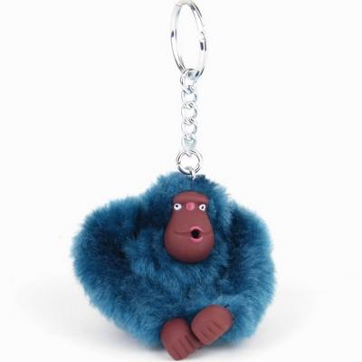 מחזיק מפתחות קוף כחול קיפלינג