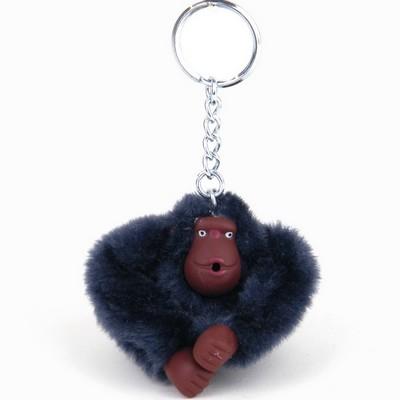 מחזיק מפתחות קוף כחול כהה קיפלינג