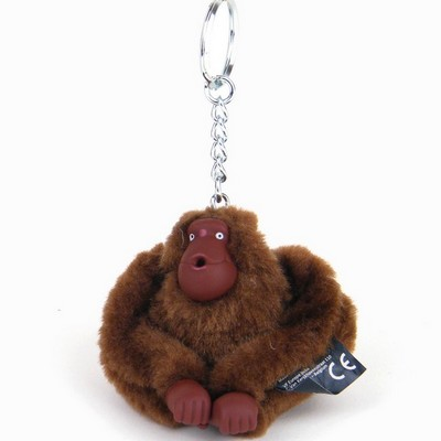 מחזיק מפתחות קוף חום קיפלינג