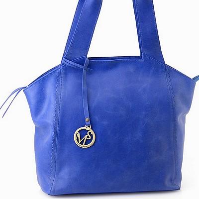 תיקים לנשים תיק מירב שגב גופיה כחול רוייל