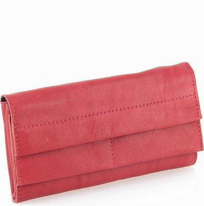 ארנקים לנשים אפיקה ארנק קלפה קלאץ גדול אדום