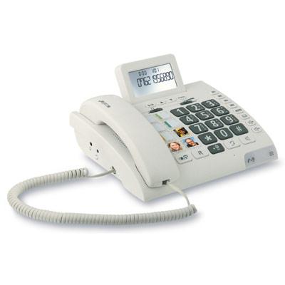 טלפון נייח לכבדי שמיעה - Scalla 2 | HUMANTECHNIK