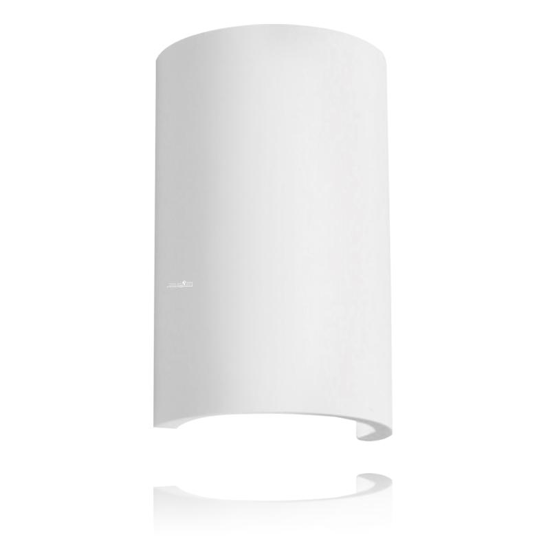 מנורת קיר גבס חצי עיגול