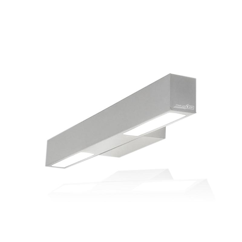 גוף תאורה צמוד קיר לד כפול תיבה מעוצב
