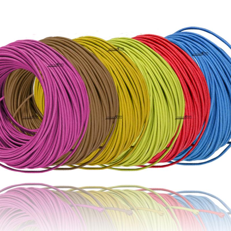 כבל חשמל צבעוני