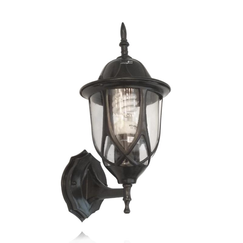 מנורת קיר מיוחדת שחורה