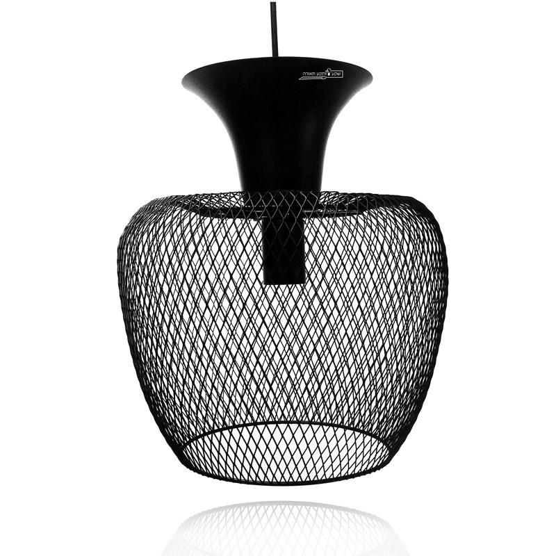 גוף תאורה כלוב בעיצוב מיוחד לתאורת סלון