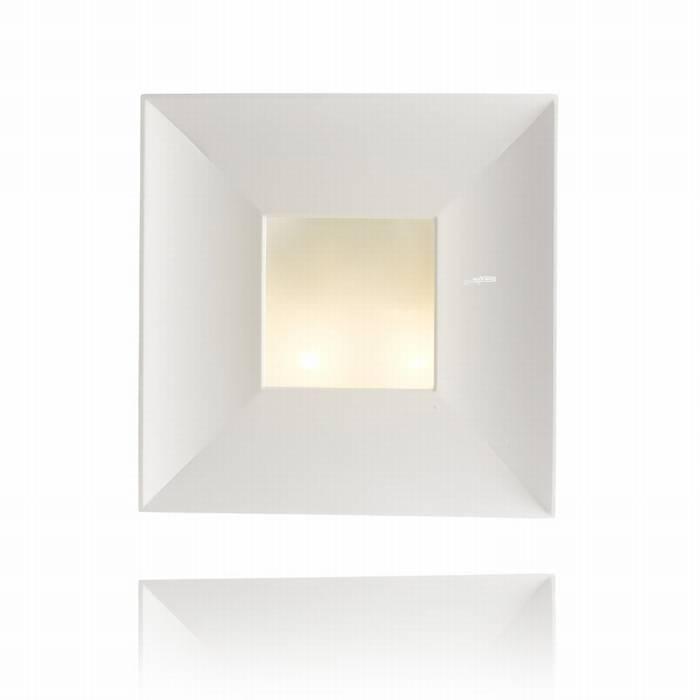מנורת קיר מגבס