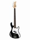 גיטרה  בס  שחורה קורט  CORT  GB-PJ BK