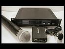 מיקרופון אלחוטי קרסקט UHF כפול 2 ידני KARSECT KRU102/KST3U