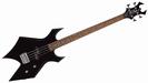 גיטרה  בס  שחורה  BC RICH