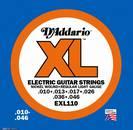 מיתרים  לחשמלית דדריו   110 D'ADDARIO EXL