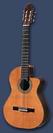גיטרה קלאסית מוגברת ת. ספרד AZAHAR 142 CUT AWAY