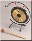 """גונג סיני """"12 פאור ביט עם מעמד ומקוש POWER PEAT SGN-12"""
