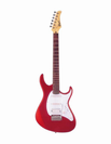 גיטרה חשמלית H,S,S אדומה קורט  CORT G110RDS