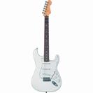 גיטרה חשמלית דרגון  3 סינגלים לבנה DRAGON IE310WH