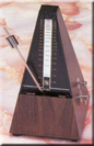 מטרונום מכני דמוי בייר עץ עם פעמון BEYER Q13