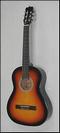 גיטרה קלאסית 3/4 אלברטו מנצ'יני אדומה ALBERTO MANCHINI 103RB