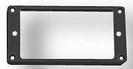 מסגרת פלסטיק שחורה להמבקר פרקסונס PARKSONS P-101/2BK