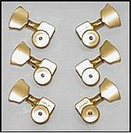 סט מפתחות ספרזל  לגיטרה 3 בכל צד זהב  SPERZEL 3-3TL G