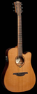גיטרה אקוסטית לג  מוגברת LAG T100DCE