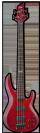 גיטרה בס  ESP LTD  B-154DX STR