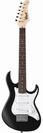 גיטרה חשמלית 3/4 שחורה קורט +נרתיק CORT G110 JUNIOR BKS