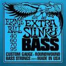 מיתרים לבס ארני בל  ERNIE BALL  2835 Extra Slinky Nickel Wound Bass 40-95