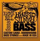 מיתרים לבס ארני בל ERNIE BALL 2833 Hybrid Slinky Nickel Wound Bass 45-105