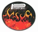 "עור ""22 עם גרפיקה   פאור ביט POWER BEAT  DHDC-22"