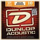 סט מיתרים 0.10 דאנלופ  לגיטרה אקוסטית DUNLOP DAB1048