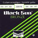 סט מיתרים 0.12 לאקוסטית סברז SAVAREZ S2230 Black Sun