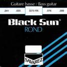 סט מיתרים  לבס 041 סברז SAVAREZ Black Sun S3270