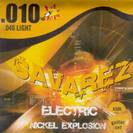 סט מיתרים לגיטרה חשמלית סברז 010 SAVAREZ Nickel Explosion SX50L