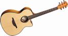 גיטרה אקוסטית מוגברת לג  LAG T66ACE